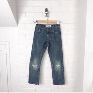 {Levi's} Boys Distressed 511 Slim Jeans